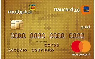 Cartão de Crédito Multiplus Itaucard 2.0 Gold Mastercard